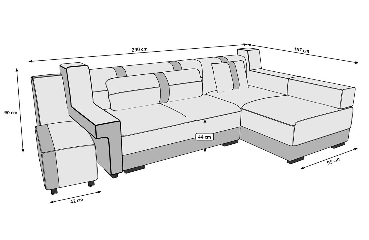 Canap design atlas tabouretnativo magasin de meubles mobilier salon - Canape petite dimension ...