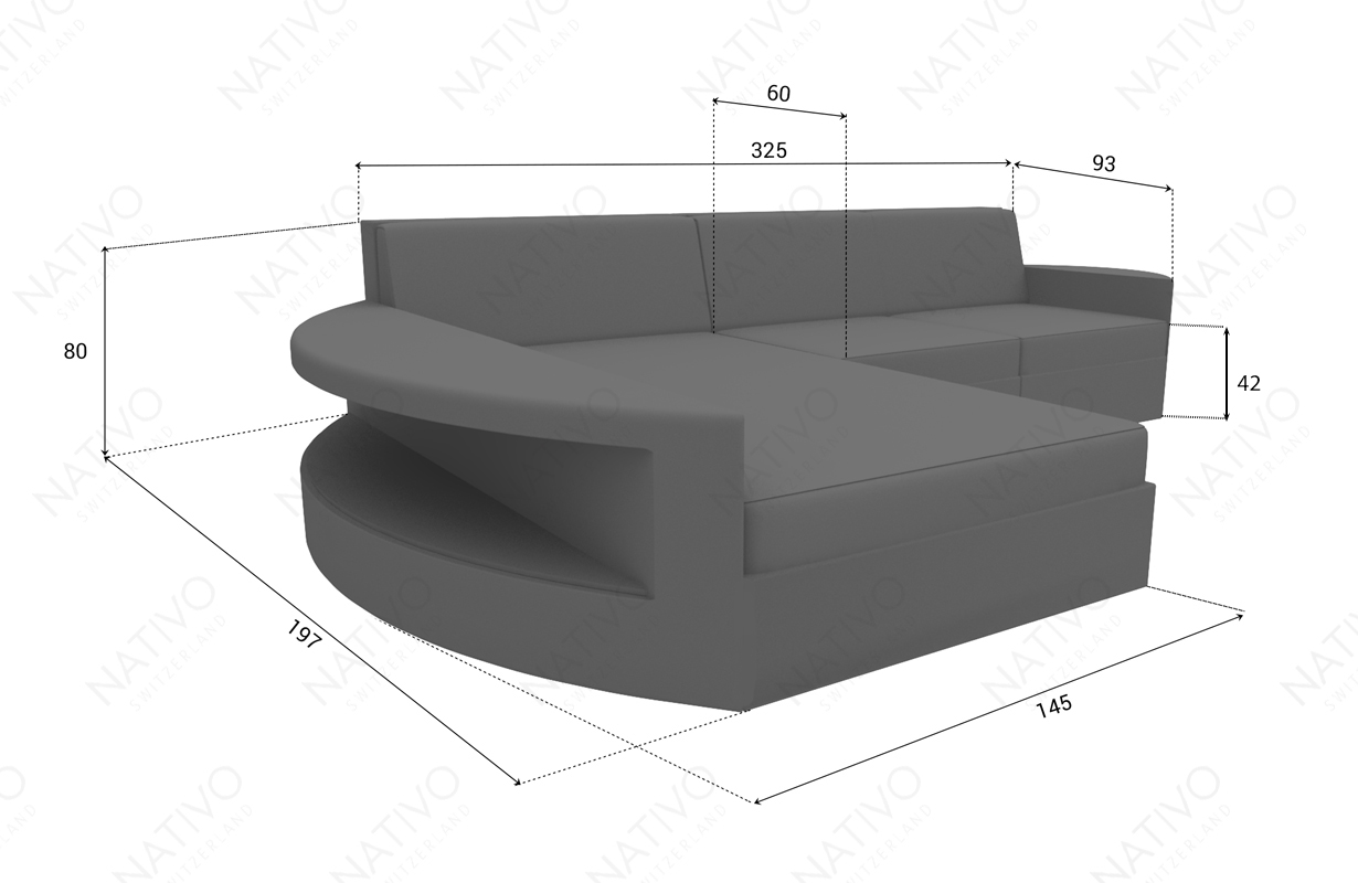 rattan sofa lounge modular atlantis mini v2 in rattan von nativo m bel. Black Bedroom Furniture Sets. Home Design Ideas